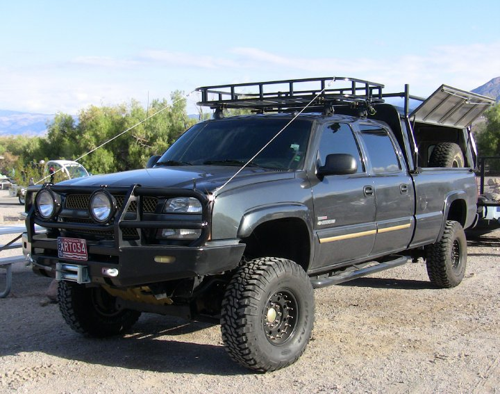 2004 Chevy 2500hd 4x4 Expedition Custom Legendary Trucks